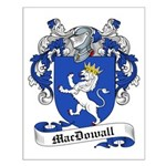 MacDowall Family Crest Small Poster