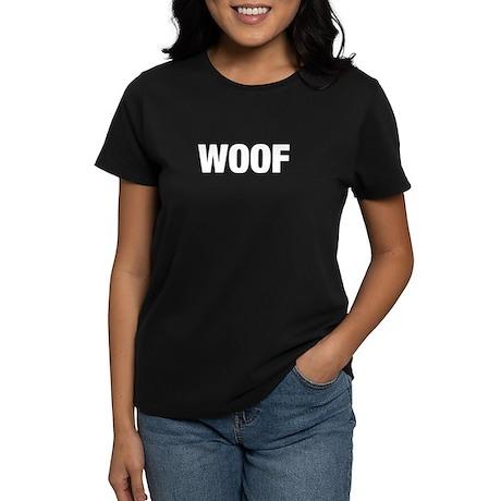 WOOF Women's Dark T-Shirt