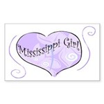 Mississippi Girl Rectangle Sticker
