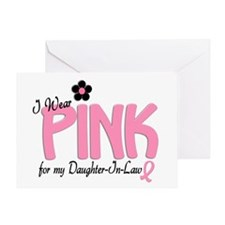 I Wear Pink For My Daughter-In-Law 14 Greeting Car