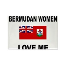 Bermudan Women Love Me Rectangle Magnet