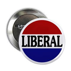 Liberal Red White and Blue 2.25