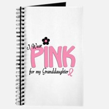 I Wear Pink For My Granddaughter 14 Journal