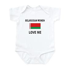 Belarusian Women Love Me Infant Bodysuit