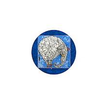 Elephant Mini Button (10 pack)