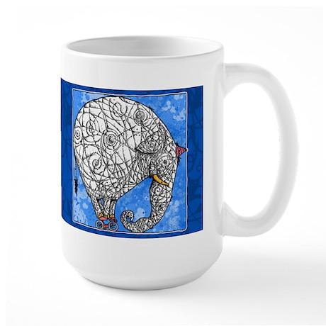 Elephant Large Mug