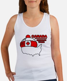 Funny Canada Women's Tank Top