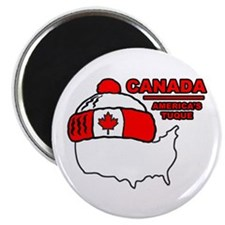 "Funny Canada 2.25"" Magnet (10 pack)"