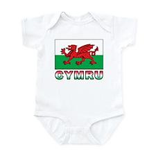 Cymru Infant Bodysuit