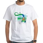 Morphology White T-Shirt