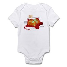 Animal Cell Infant Bodysuit