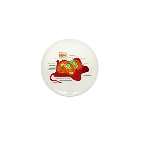 Animal Cell Mini Button (10 pack)