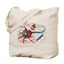 Neuron cell Tote Bag