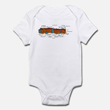 Cell Membrane Infant Bodysuit
