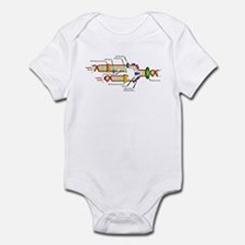 DNA Synthesis Infant Bodysuit