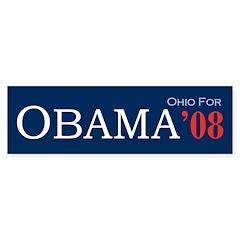Ohio For Obama '08 - Bumper Bumper Sticker