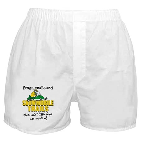 What Little Boys Are Made Of Boxer Shorts