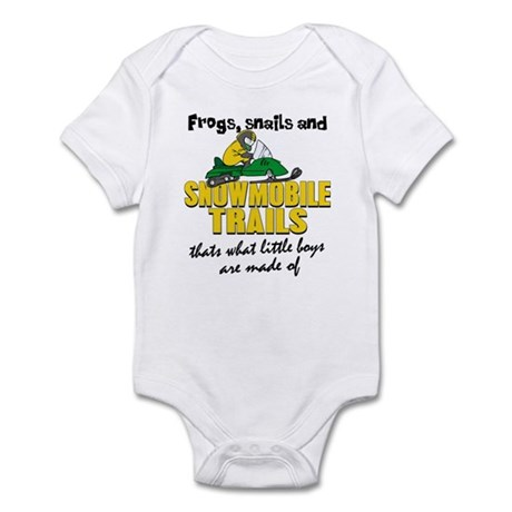 What Little Boys Are Made Of Infant Bodysuit