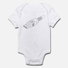 USB Plug Infant Bodysuit