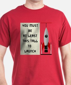 This tall to launch - Dark Tee