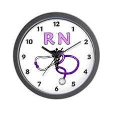 RN Nurse Medical Wall Clock