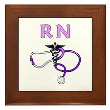 RN Nurse Medical Framed Tile