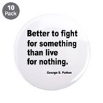 "Fight for Something 3.5"" Button (10 pack)"