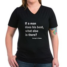 Man Does His Best Shirt