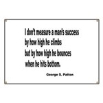 Patton's Measure of Success Banner