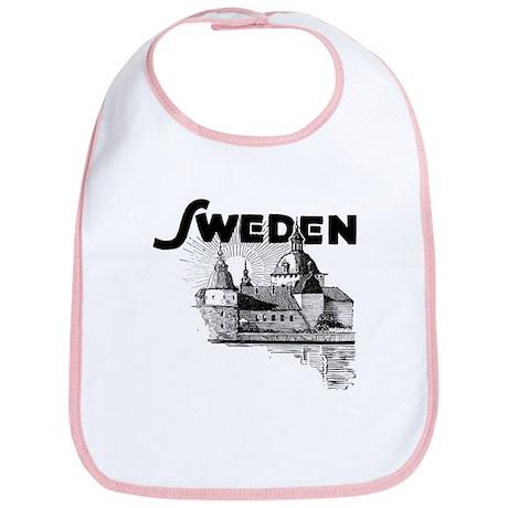 Sweden Castle Bib