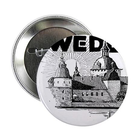 Sweden Castle Button