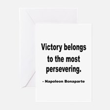 Napoleon on Victory Greeting Cards (Pk of 20)