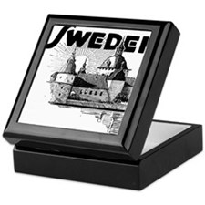 Sweden Castle Keepsake Box