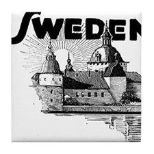 Sweden Castle Tile Coaster