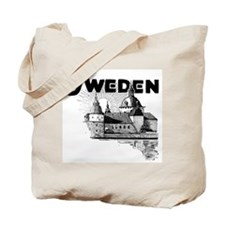 Sweden Castle Tote Bag