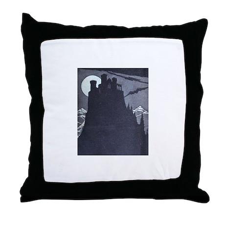 Castle Dracula Accent Pillow