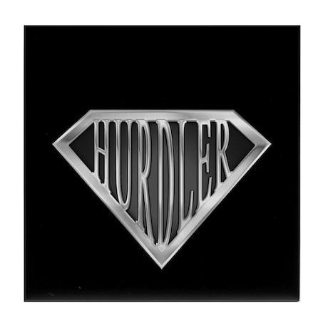 SuperHurdler(metal) Tile Coaster