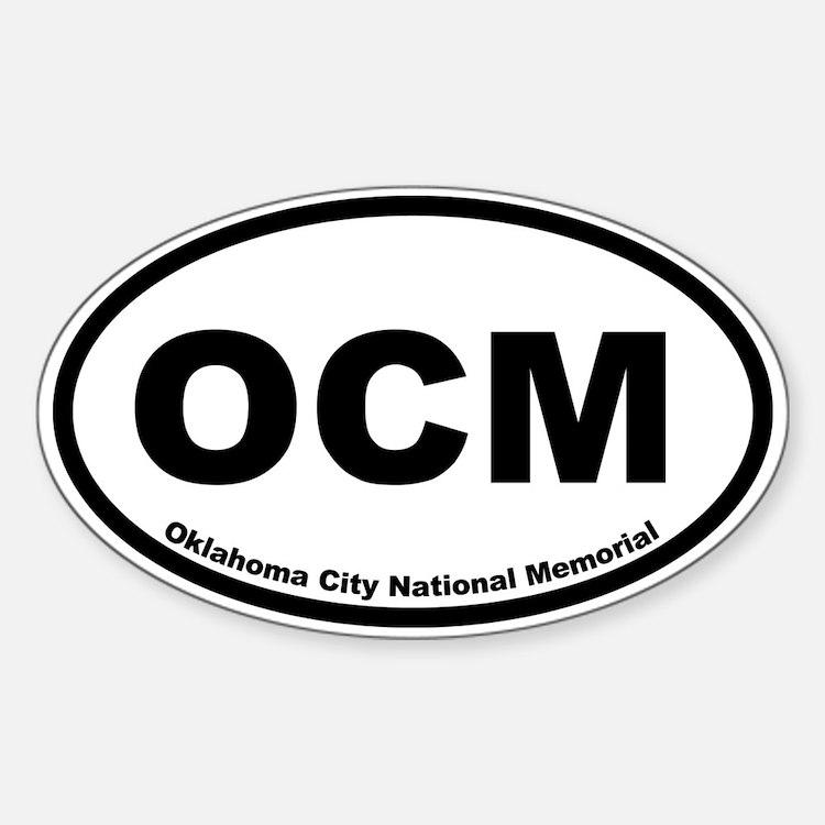 Oklahoma City National Memorial Oval Decal