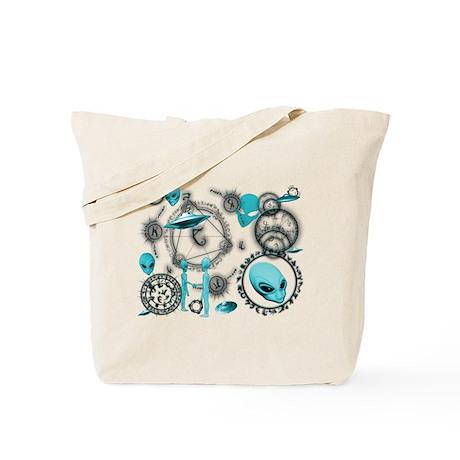A.L.I.E.N. Arcane Circles 7 Tote Bag