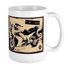 Large Yamaha FJR 1300 Sketchbook Coffee Mug