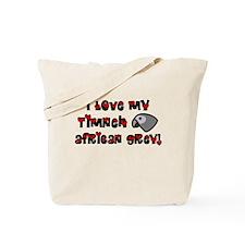 Anime Timneh African Grey Tote Bag