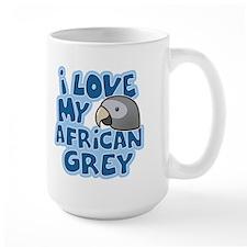 Kawaii Timneh African Grey Mug