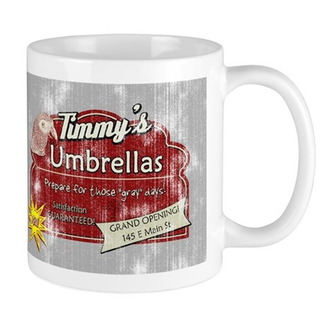 Timmy's Umbrellas Mug