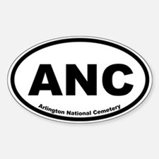 Arlington National Cemetery Oval Decal
