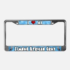 Crtn Love Timneh African Grey License Plate Frame