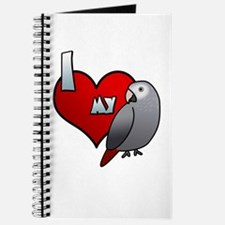 Love Timneh African Grey Journal