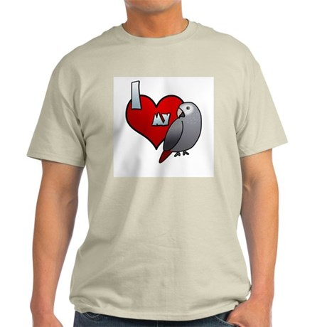 Love Timneh African Grey Light Tee Shirt