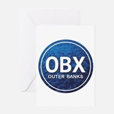 OBX - Outer Banks Greeting Card