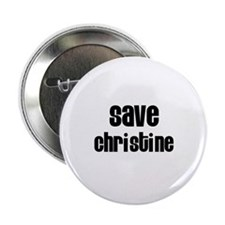 Save Christine Button