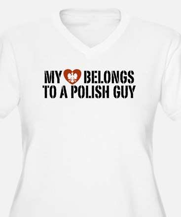 My Heart belongs to a Polish Guy T-Shirt
